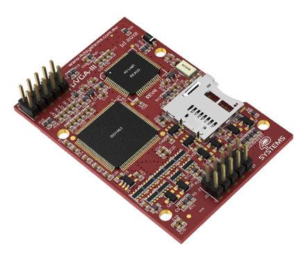 4D Systems - UVGA-III - 4D Systems UVGA-III LCD TFT 65k �@示控制器, 4 D �程��|、I2C 接口、TTL 接口、VGA 接口 I/F