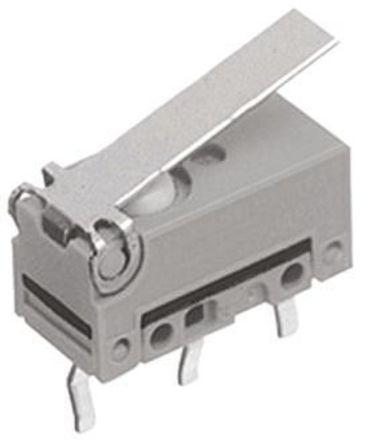 Panasonic - ABJ241240 - Panasonic ABJ241240 单刀双掷 摆杆 微动开关, 1 A @ 30 V 直流