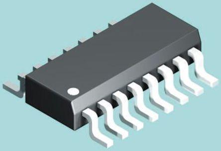 STMicroelectronics - L4978D - STMicroelectronics L4978D 降压 开关稳压器, 8 → 55 V输入, 2A最大输出, 3.3 → 50 V输出, 300 kHz最高开关频率, 16引脚 SOIC W封装