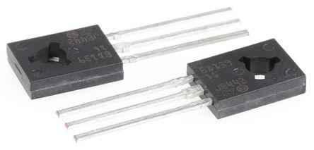 STMicroelectronics - BD139-16 - STMicroelectronics BD139-16 , NPN 晶体管, 3 A, Vce=80 V, HFE:100, 3引脚 SOT-32封装