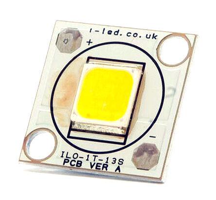 Intelligent LED Solutions - ILO-01TT1-13NW-EC211. - Intelligent LED Solutions ILO-01TT1-13NW-EC211., DURIS S 10 系列 白色 SCOB LED, 4000K 80CRI