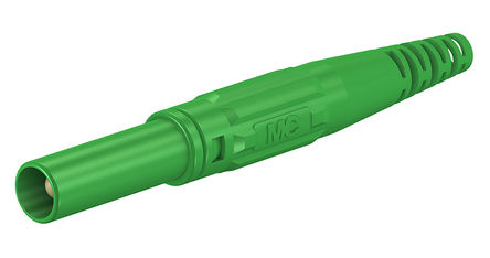 Multi Contact - 66.9196-25 - Multi Contact 66.9196-25 绿色 香蕉插头, 1kV 32A, 镀镍触点