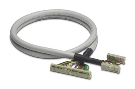 Phoenix Contact - 2304872 - Phoenix Contact 2304872 0.5m IDC 20 针 - 2 个 IDC 50 针 母 - 母 电缆, 使用于Emerson DeltaV