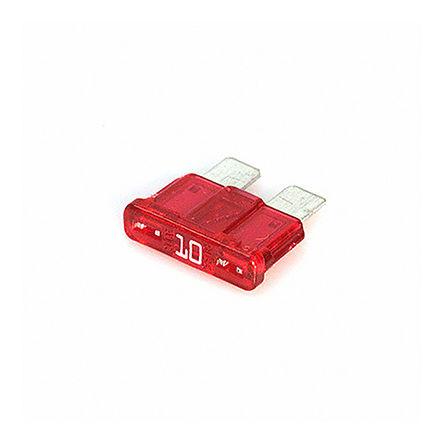 Cooper Bussmann - ATC-10 - Cooper Bussmann 10A 红色 汽车 车用熔断器 ATC-10, 32V dc, 19.3mm x 5.25mm x 12.5mm