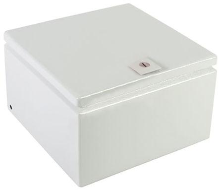 Rittal - JB101006HC - Rittal JB 系列 浅灰色 碳钢 IP66 接线盒 JB101006HC, 250 x 150 x 250mm