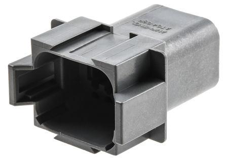 Amphenol - AT04-08PA - Amphenol 8路 电缆安装 母 电源连接器 AT04-08PA