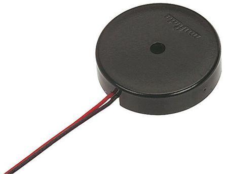 Murata - PKM17EWH4000 - Murata 最高 25 V 交流 75dB 连续音调 外部驱动 压电蜂鸣器 PKM17EWH4000, 最大为 4000 Hz