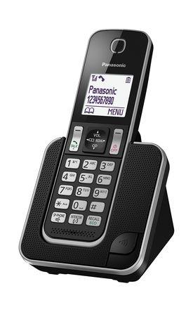 Panasonic - KX-TGD310EB - Panasonic KX-TGD310E LCD 显示 电话 KX-TGD310EB