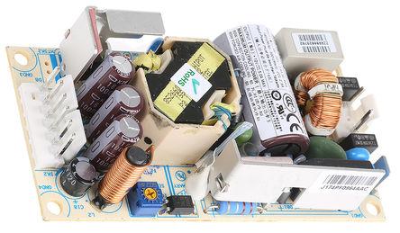 Artesyn Embedded Technologies - NPS63-M - Artesyn Embedded Technologies 60W �屋�出 嵌入式�_�P模式�源 SMPS NPS63-M, 127 → 300 V dc, 90 → 264 V ac�入, 12V�出