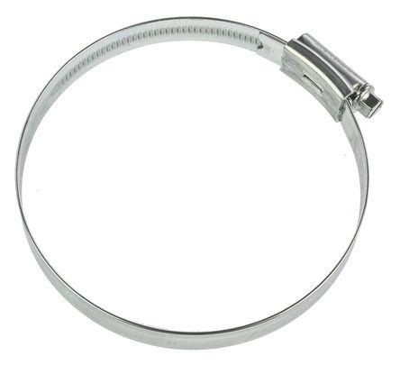 HI-GRIP - HGZ100BP - HI-GRIP 钢 管夹 HGZ100BP, 蜗杆传动, 80 → 100mm 内径, 带槽六角