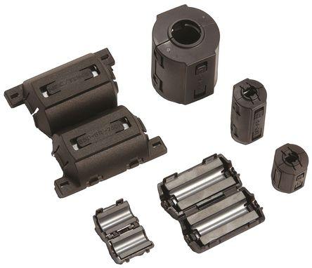 KEMET - ESD-SR-250H - KEMET 可开启 铁氧体磁环 ESD-SR-250H, 30 x 42 x 30mm, 13mm孔径, 应用于圆形电缆