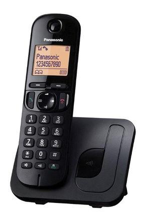 Panasonic - KX-TGC210EB - Panasonic KX-TGC210E LCD 显示 电话 KX-TGC210EB