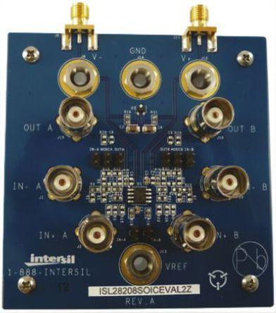 Intersil - ISL28208SOICEVAL2Z - Intersil 模拟开发套件 ISL28208SOICEVAL2Z