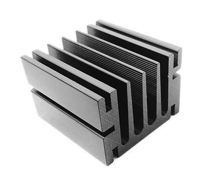 ABL Components - 205AB0500B - ABL Components 黑色 散热器 205AB0500B, 6.4°C/W, 螺钉安装, 50 x 46 x 33mm