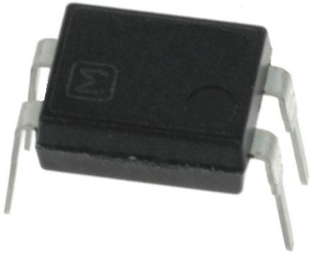 Panasonic - APT1231 - Panasonic 3.5 mA PCB安装 单极常开 固态继电器 APT1231, 三端双向可控硅开关元件输出, 零交叉切换, 600 V