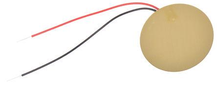 Murata - 7BB-20-6L0 - Murata 导线安装 隔膜音调 外部驱动 压电蜂鸣器 7BB-20-6L0, 最高6.3 kHz