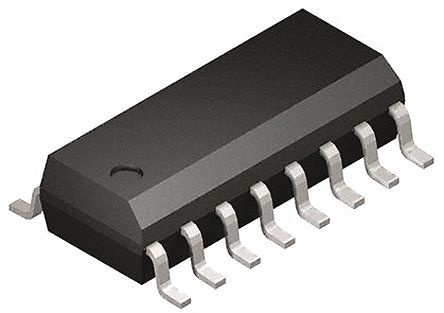 Silicon Labs - Si8641AB-B-IS1 - Silicon Labs Si8641AB-B-IS1 4通道 数字隔离器, 2.5 kVrms隔离电压, 16针 SOIC