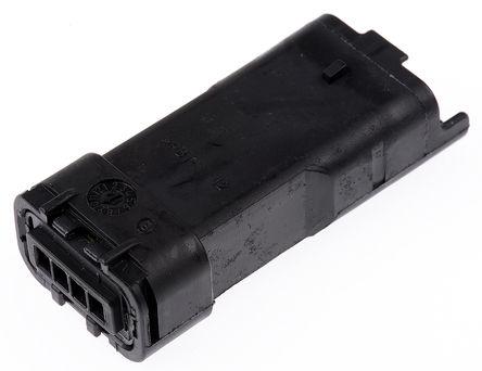 Delphi - 211PL042S0011 - Delphi 211PL 系列 3.33mm �距 1 行 4 路 母 ��|安�b PCB �んw 211PL042S0011