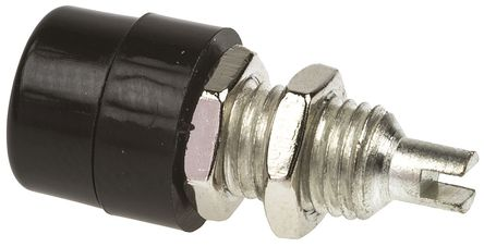 Hirschmann Test & Measurement - 930176100 - Hirschmann 930176100 黑色 4mm 插座, 60V dc 32A, 镀锡触点