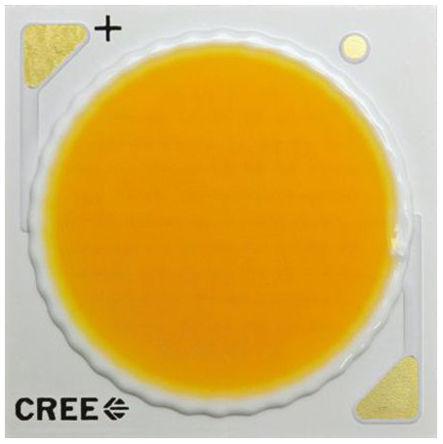 Cree - CXB2540-0000-000N0HW440G - Cree, CXA2 系列 白色 80CRI COB LED CXB2540-0000-000N0HW440G, 4000K色温, 2100mA, 36 V正向电压, 5380 lm,5784 lm光通量