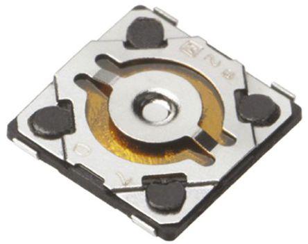 Panasonic - EVQP6YB55 - Panasonic 推入板 触觉开关 EVQP6YB55, 单刀单掷 - 常开, 20 mA 0.58mm