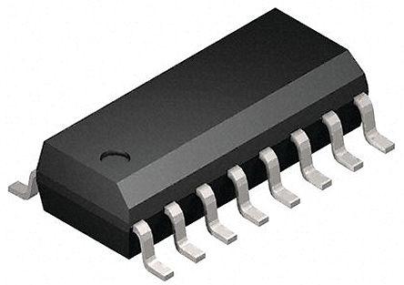 STMicroelectronics - M74HC365YRM13TR - M74HC365YRM13TR HC 六总线缓冲器, 195 ns@ 150 pF, 7.8mA, 2 → 6 V, 16引脚 SOIC封装