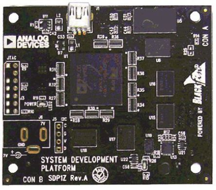 Analog Devices - EVAL-SDP-CB1Z - Analog Devices SDP-B Blackfin 处理器系列 处理器和微控制器开发套件 EVAL-SDP-CB1Z; 载有 ADSP-BF527 DSP(数字信号处理器) (Blackfin 内核)
