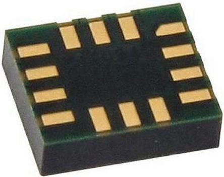STMicroelectronics - LSM6DS3TR - STMicroelectronics LSM6DS3TR 3轴 加速度计和陀螺仪, 串行I2C、串行SPI接口, 0 → 400 kHz, 1.7 → 3.6 V电源, 14引脚 LGA封装