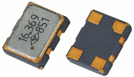 TAITIEN - R0053-T-062-3 - TAITIEN 16.367667 MHz 电压控制温度补偿晶体振荡器 R0053-T-062-3, 2.8 → 3.3 V, 4引脚 SMT, 2.5x2mm