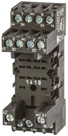 TE Connectivity - PT78740 4-1415033-1 - TE Connectivity 继电器插座 PT78740 4-1415033-1, 适用于PT5 系列