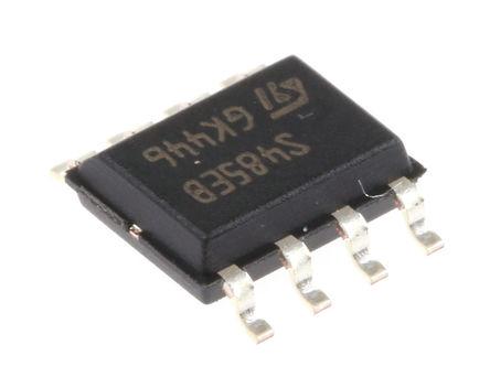 STMicroelectronics - ST485EBDR - STMicroelectronics ST485EBDR 5MBps 线路收发器, RS-422,RS-485接口, 差分接收器信号, 5 V单电源, 8引脚 SOIC封装