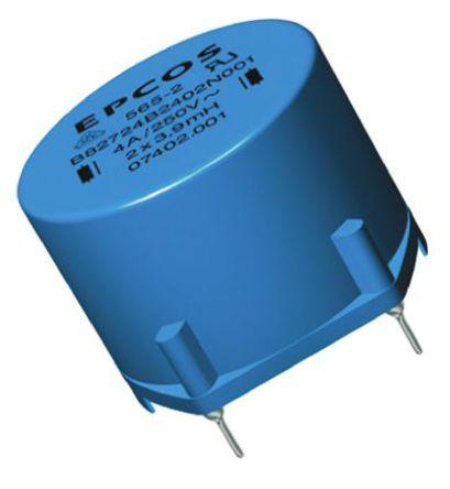 EPCOS - B82724B2602N001 - EPCOS B82721A 系列 1.8 mH ±30% 铁氧体 B82724B2602N001 功率电感器, 6A Idc, 23mΩ Rdc