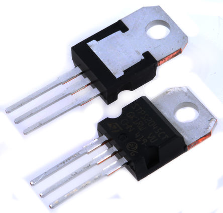 STMicroelectronics - STPS2045CT - STMicroelectronics STPS2045CT 肖特基 二极管, Io=10A, Vrev=45V, 3引脚 TO-220AB封装
