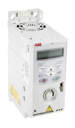 ABB - ACS150-01E-04A7-2 - ABB ACS150 系列 IP20 0.75 kW 变频器驱动 ACS150-01E-04A7-2, 500Hz, 4.7 A, 200 → 240 V