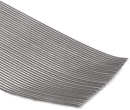 3M - 8125/14-100 - 3M 14 路 2.54mm节距 灰色 无屏蔽 带状电缆 8125/14-100, 34.65 mm 宽