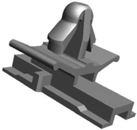 TE Connectivity - 345484-1 - TE Connectivity 应力释放支架 345484-1, 使用于 AMP040 系列
