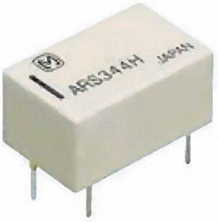 Panasonic - ARS114H - Panasonic 单刀双掷 PCB 高频继电器 ARS114H, 3GHz, 4.5V dc