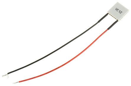 Laird Technologies - CP1.0-31-05L - Laird Technologies 珀耳帖模块 CP1.0-31-05L, 9.2W制冷能力, +75°C最大温差, 3.9A, 4V dc, 15 x 15mm