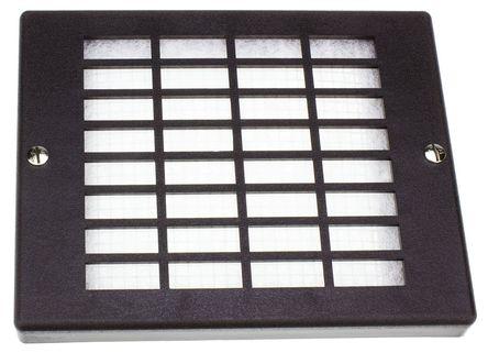 ebm-papst - PMFA160 - ebm-papst PC、合成纤维制 扇形过滤器 PMFA160, 19.5mm厚, 用于172 x 150mm风扇