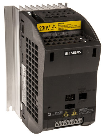 Siemens - 6SL3211-0AB17-5BA1 - Siemens SINAMICS G110 系列 IP20 0.75 kW ��l器��� 6SL3211-0AB17-5BA1, 0 → 550 Hz, 10 A, 200 → 240 V 交流