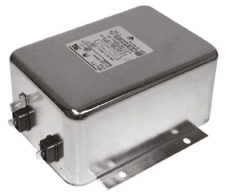 TE Connectivity - 10ET1 (6609046-7) - TE Connectivity 电源线过滤, 10 A, 250 V 交流, 119.1 x 57.7 x 45.7 mm