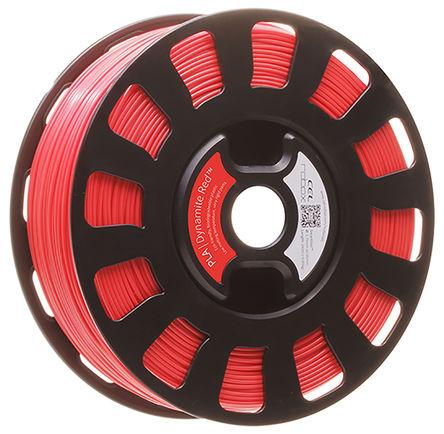 CEL - RBX-PLA-RD536 - CEL 红色 1.75mm直径 FDM PLA 3D 打印机熔丝耗材 RBX-PLA-RD536, 700g, 适用于 Robox