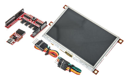 4D Systems - SK-43PT-AR - 4D Systems ���采集、串行 LCD �_�l套件