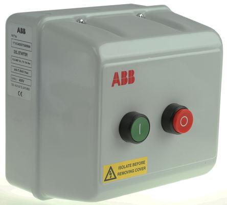 ABB - 1TVC400070S5699 - ABB 1TVC 系列 7.5 kW 自动 DOL 启动器 1TVC400070S5699, 400 V 交流, 3相, IP55