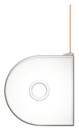 3D Systems - 380150 - 3D Systems 橙色 FDM PLA 3D 打印机熔丝耗材, 用于第二代 Cube, 适用于 第 2 代 Cube