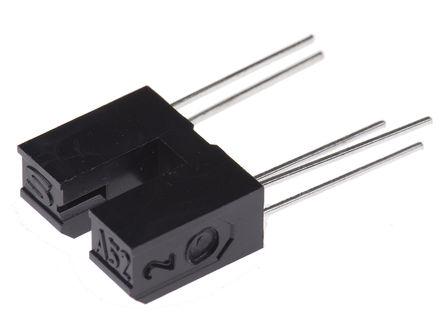 Sharp - GP1A52HRJ00F - Sharp 反射式�鞲衅� GP1A52HRJ00F, 晶�w管 �出, 5引�_ OPIC封�b