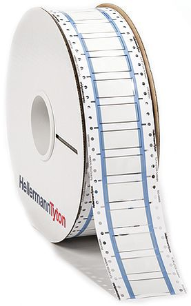 HellermannTyton - 553-60006 - HellermannTyton TLFX DS 系列 �崾湛s��|�擞�套管 553-60006, 使用于TrakMark DS,TT 430 �撕�打印�C,TT4000+