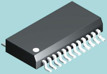 STMicroelectronics - LED1642GWPTR - STMicroelectronics LED1642GWPTR LED 驱动器, 3.3 V, 24引脚 QSOP封装