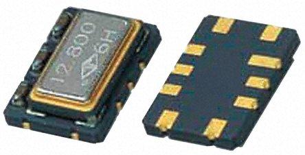 TAITIEN - R0053-T-027-3 - TAITIEN 25 MHz 电压控制温度补偿晶体振荡器 R0053-T-027-3, 2.8 → 3.3 V, 10引脚 SMT, 7x5mm