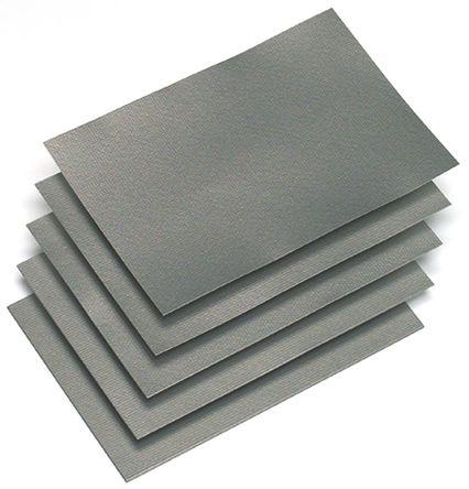 KEMET - EFR(03)-240X240T0800 - KEMET EFR(03)-240X240T0800 聚合体基座,混合有微米型磁粉 柔性抑制器, 自粘式固定, 0.3mm x 240mm x 240mm